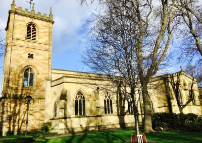 Dewsbury Minster Website Restructure