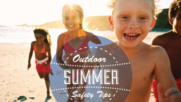 Outdoor Summer Safety Tips for Children