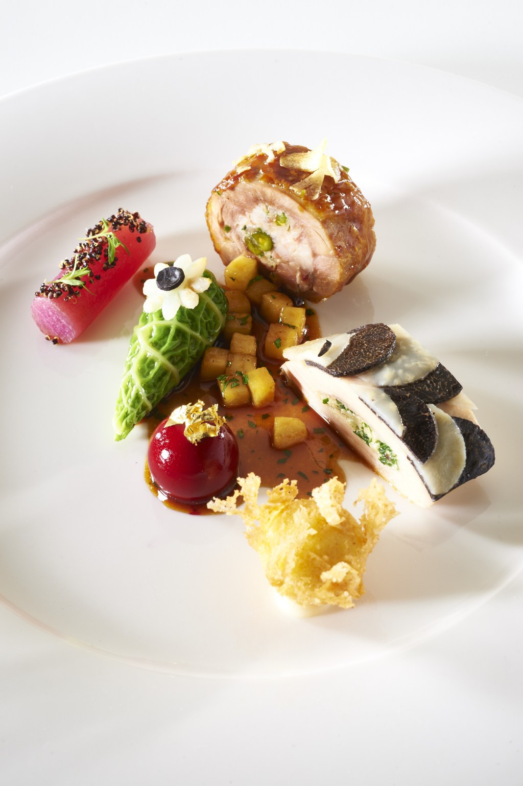 The UK meat dish, Bocuse d'Or 2015