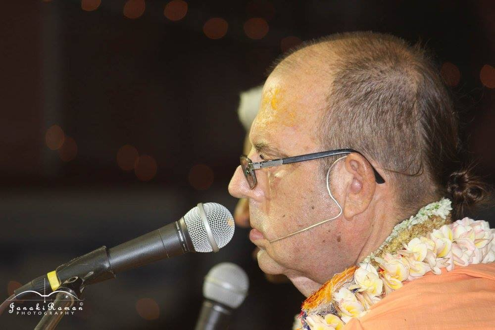 67th Vyasa Puja ceremony of His Holiness Jayapataka Swami