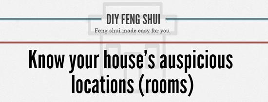 diy feng shui auspicious locations bazhai