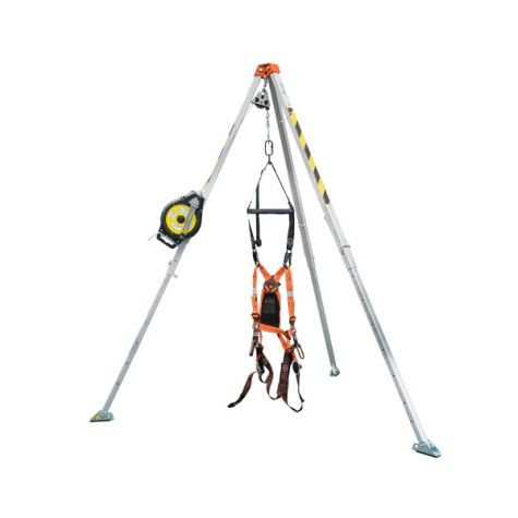 Confined Space Entry Kit 3 Way Winch System 7ft (SWL 100Kg