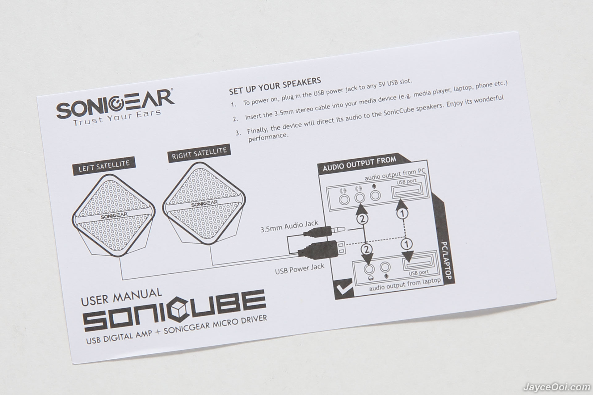 Sonicgear Sonic Cube Review