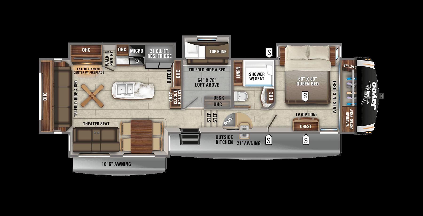 5Th Wheel 2 Bedroom Campers