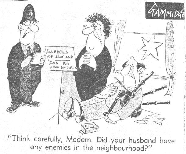 Bagpipe Cartoons