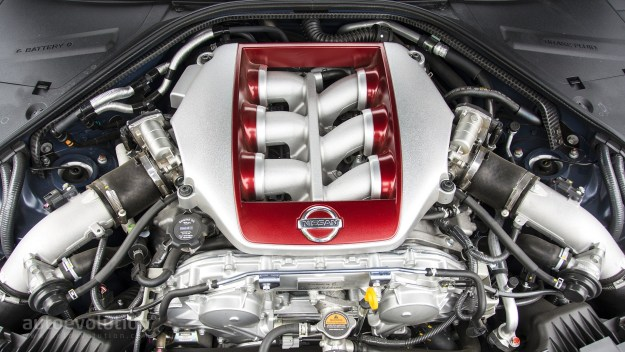 The Nissan GTR Nismo Engine