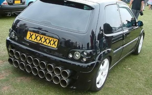 Fugly Car Modifications On Exhaust