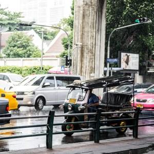 Here is a tuk tuk in Bangkok