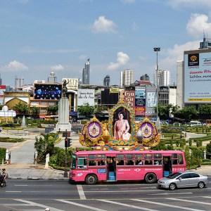 Wongwian Yai Roundabout, Bangkok