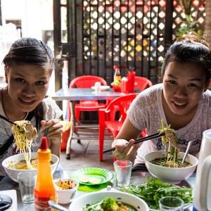 My two dear Vietnamese friends Ha & Hua