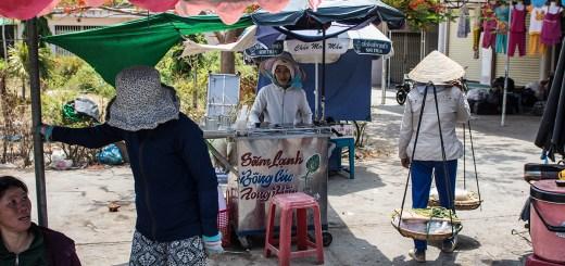 Phan Rang fresh market