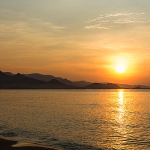 Sunrise Phan Rang Beach