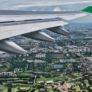Flight home - Bangkok
