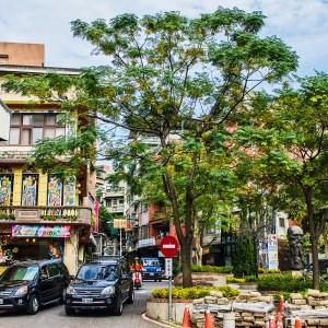 Tamshui town center - Taiwan