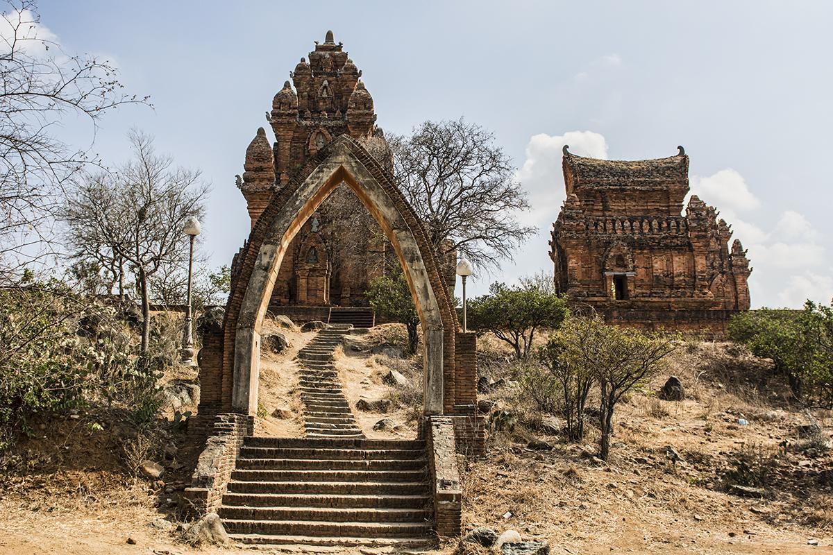 Po Klong Garai Temple near Phan Rang in the Ninh