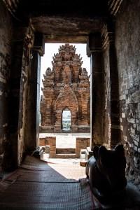 (77) - Inside Po Klong Garai Cham Temple