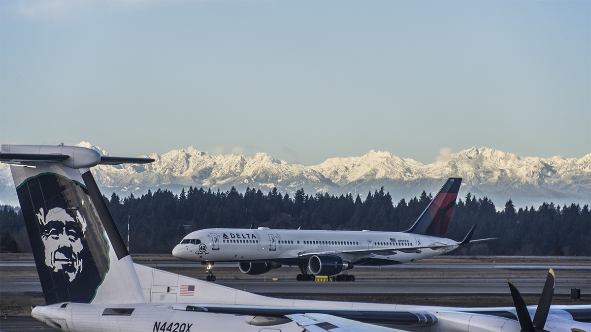 Don't you just love those Olympic Mountains!