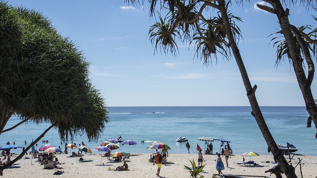 I love Kata Beach, but we are not far from the equator, so don't forget the sunblock!