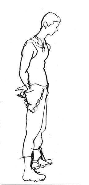 Jayel Draco, Standing - by Daniel Zalkus