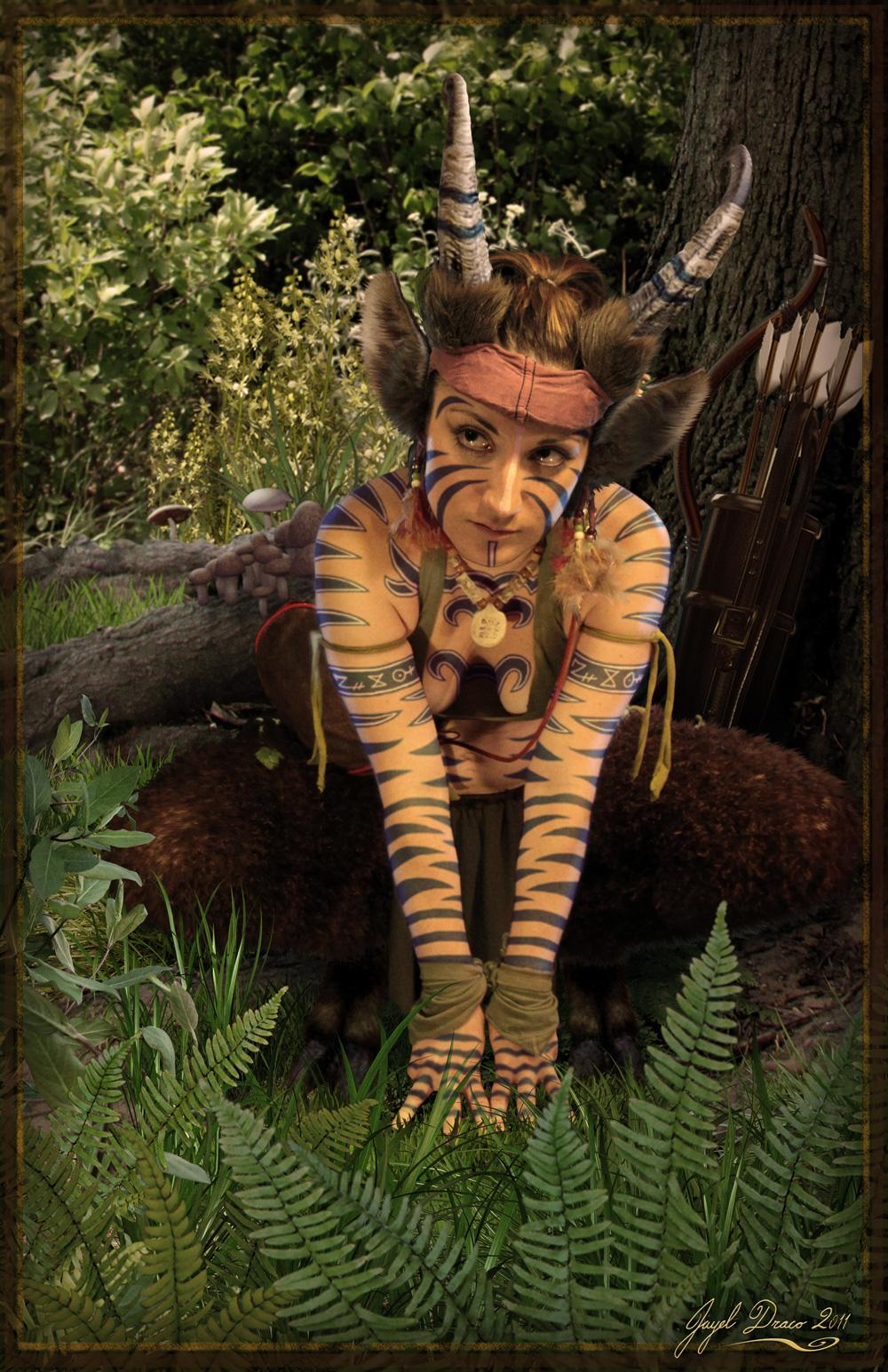 FRANATIA THE FAUN - costume, photography, and photomanipulation by Jayel Draco