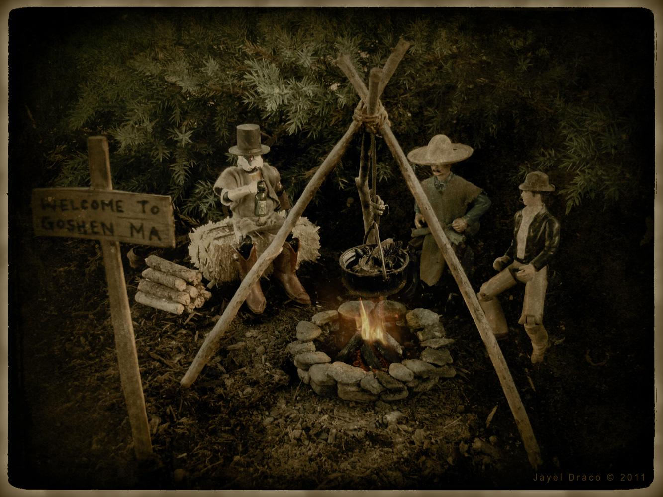HOBO CAMP DISTRESSED - Miniatures, Photography, and Photomanipulation by Jayel Draco
