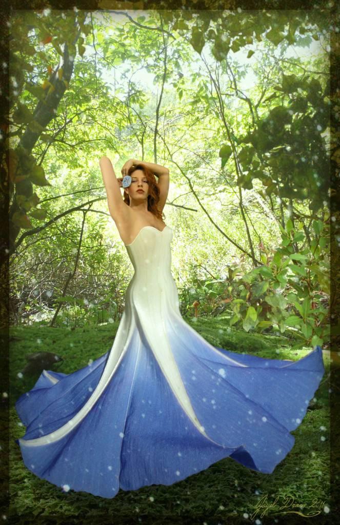 MorningGloria - Morning Glory Fae - Element Photography, and Photomanipulation by Jayel Draco
