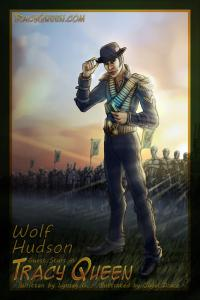 Wolf Hudson - Tracy Queen Cameo - by Jayel Draco
