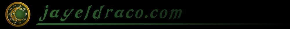 jayeldraco.com website banner logo