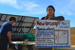 Art as Resistance at the Oceti Sakowin camp for the NoDAPL protests