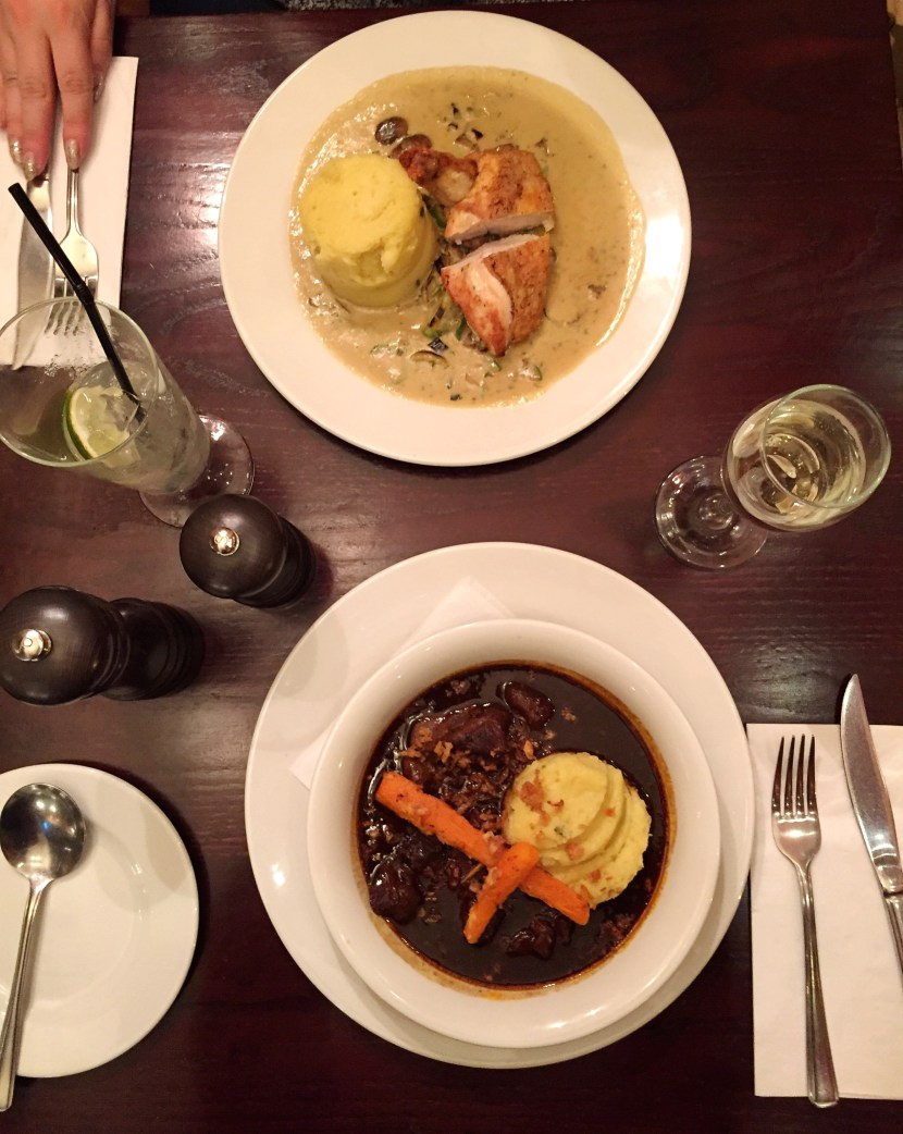 Cafe Rouge Main Courses
