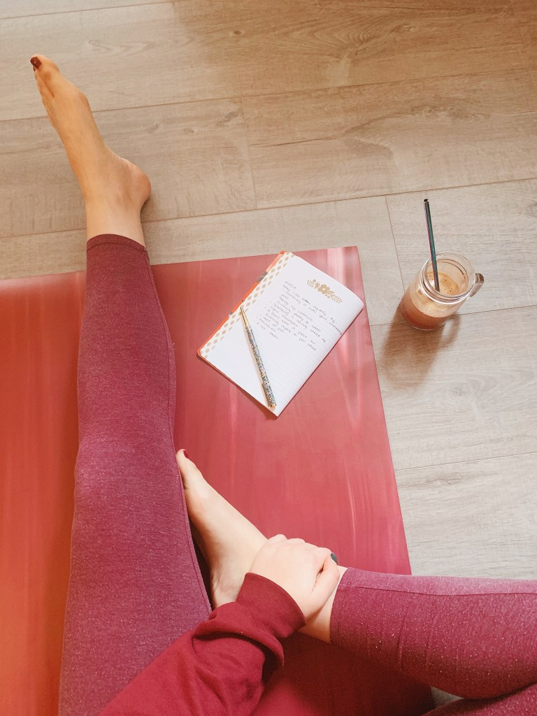 Jaye Rockett Yoga mat lululemon journaling 5 to buy in march