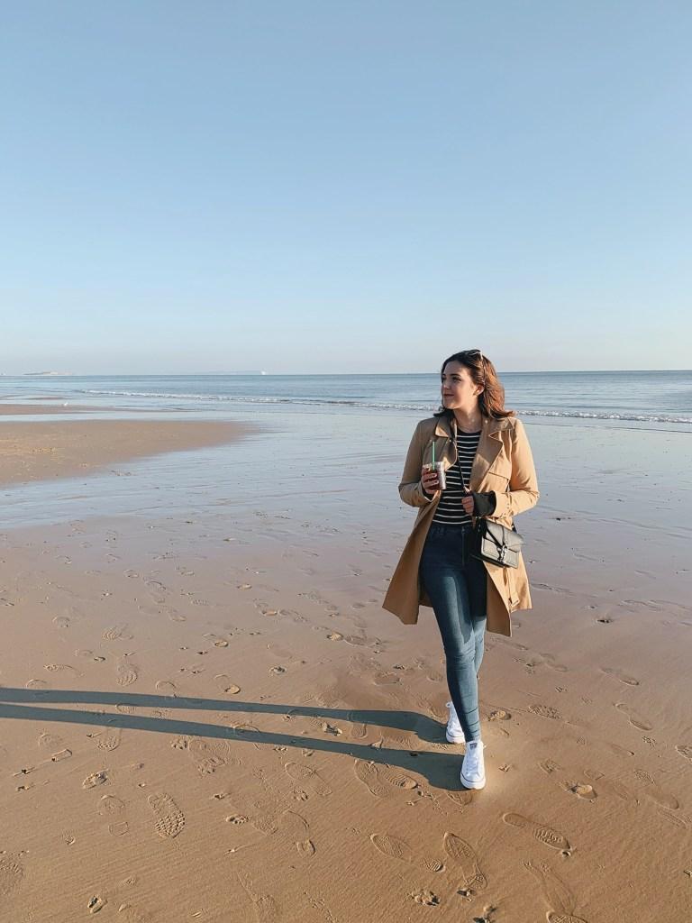 Jaye Rockett Bournemouth Beach January 2019
