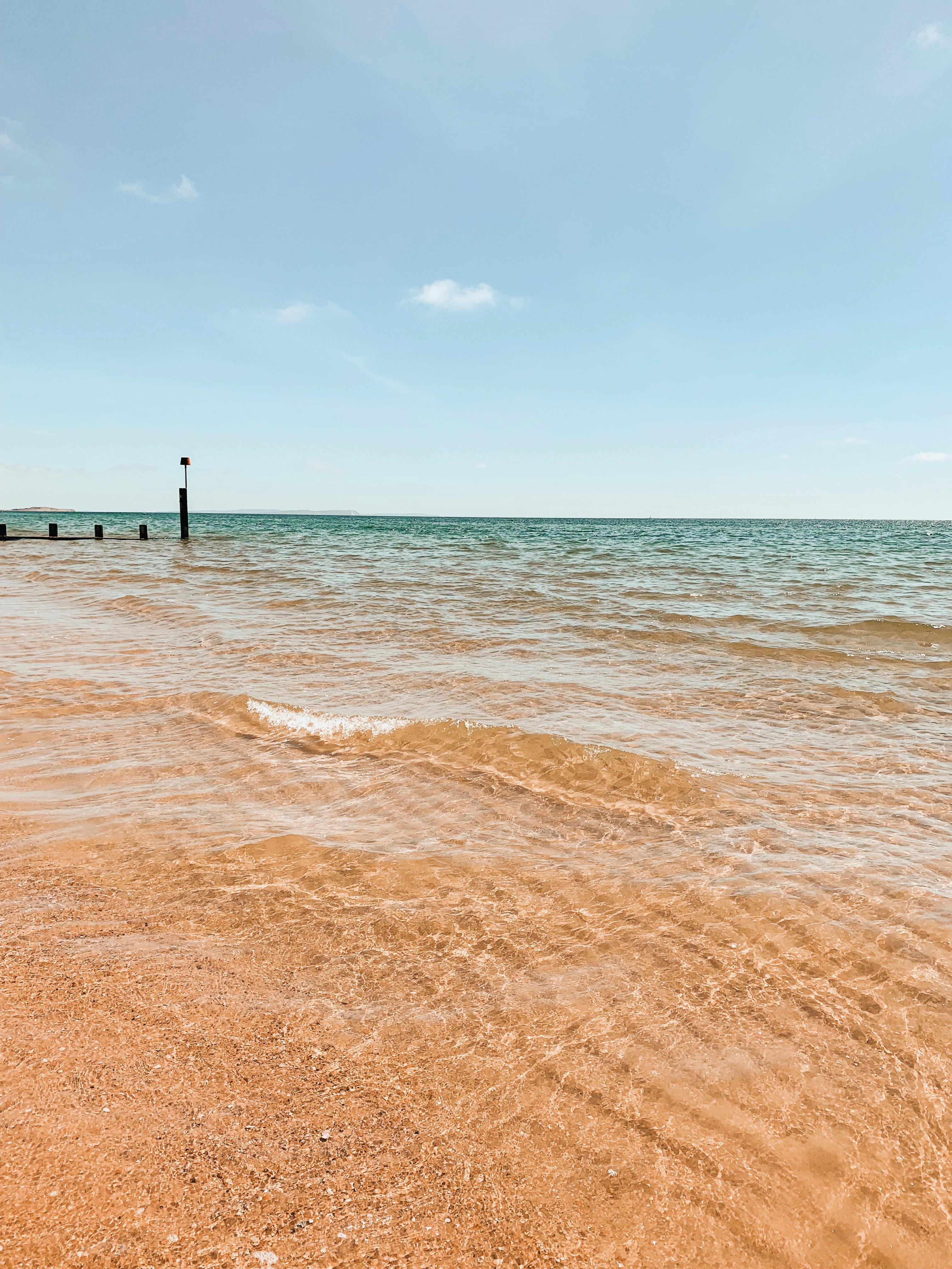 jaye rockett gratitude mindset bournemouth beach summer