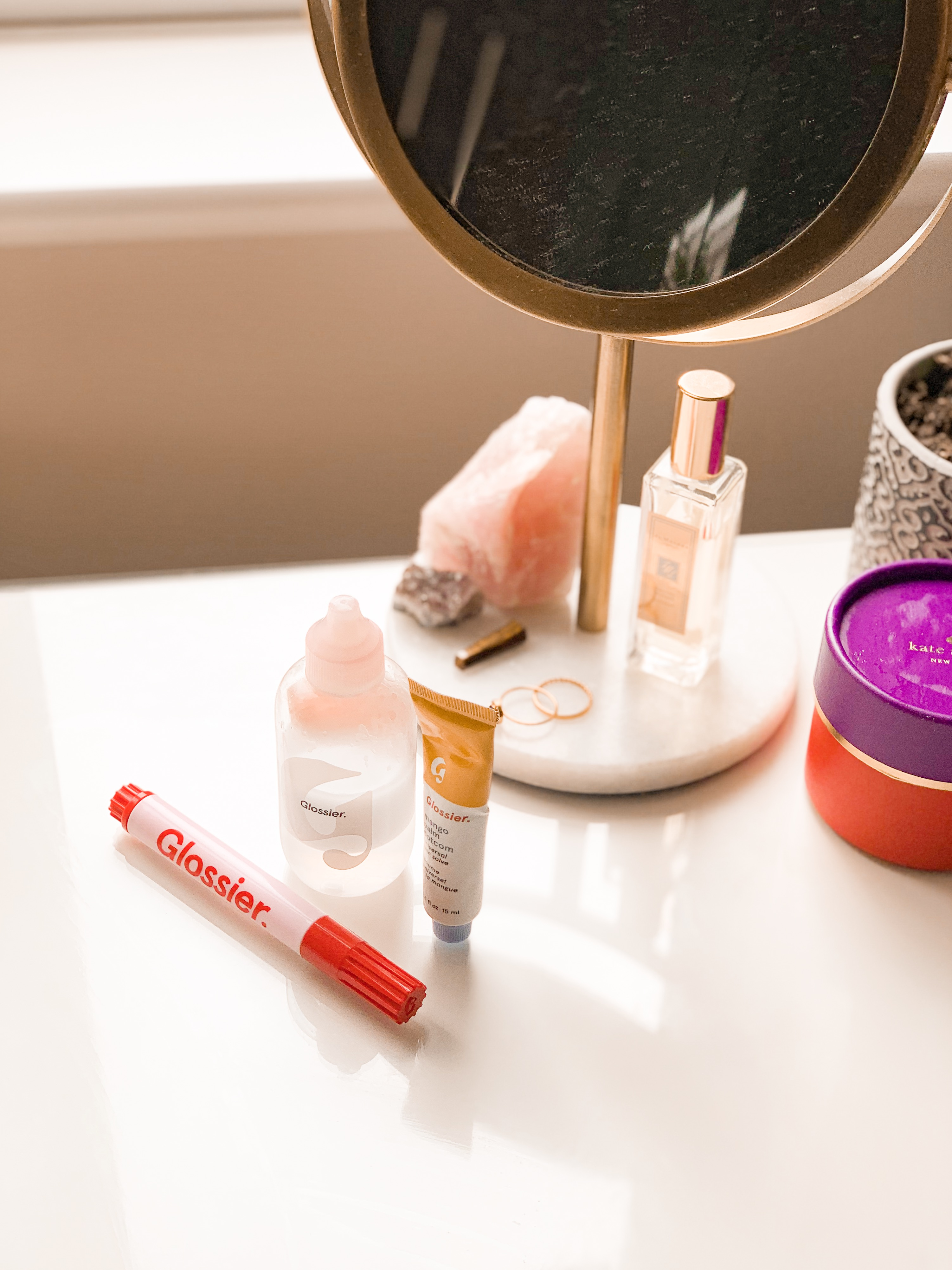 glossier review jaye rockett