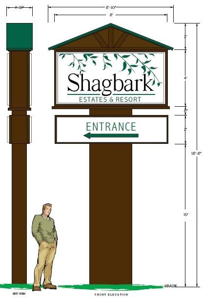 Shagbark Entrance Sign Proposal