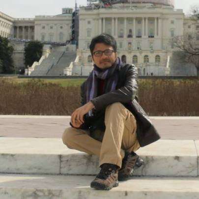 In front of United States Capitol, Washington DC