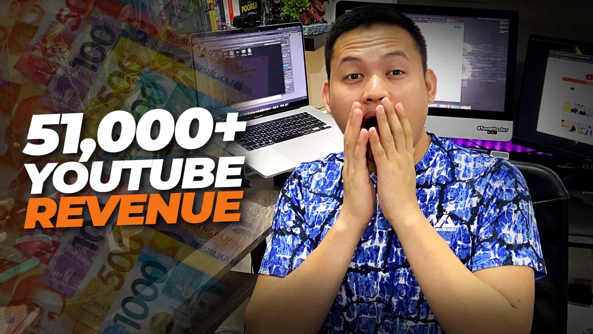 How I made ₱51,206.84 on YouTube