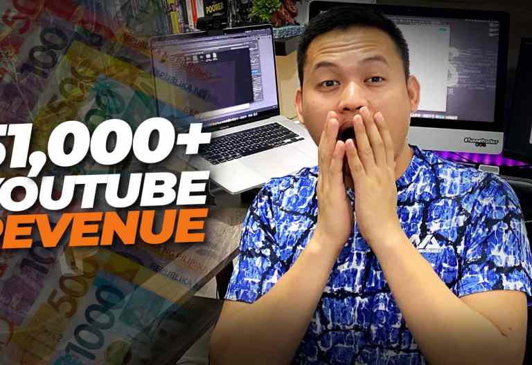 How I made ₱51,206.84 on YouTube