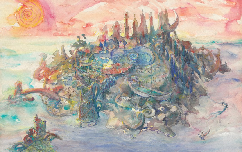 island 5: Opala Kevrali Prints Available