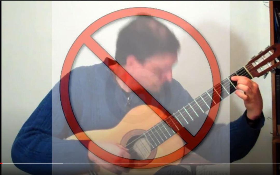 Classical Guitar Tips Video 4: What is Overexpressive Tension?