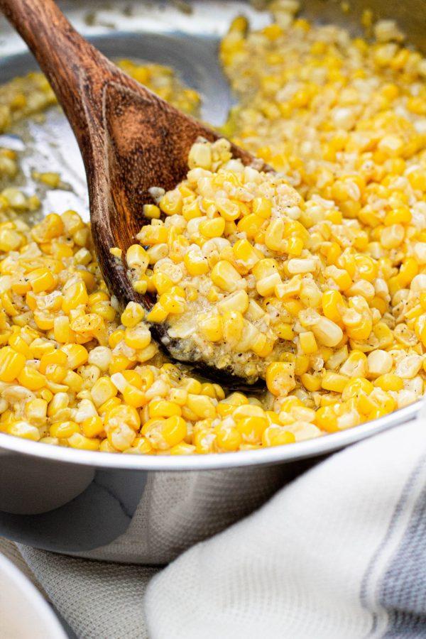 Southern Sweet Fried Corn | A Little Food