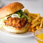Honey butter chicken sandwich