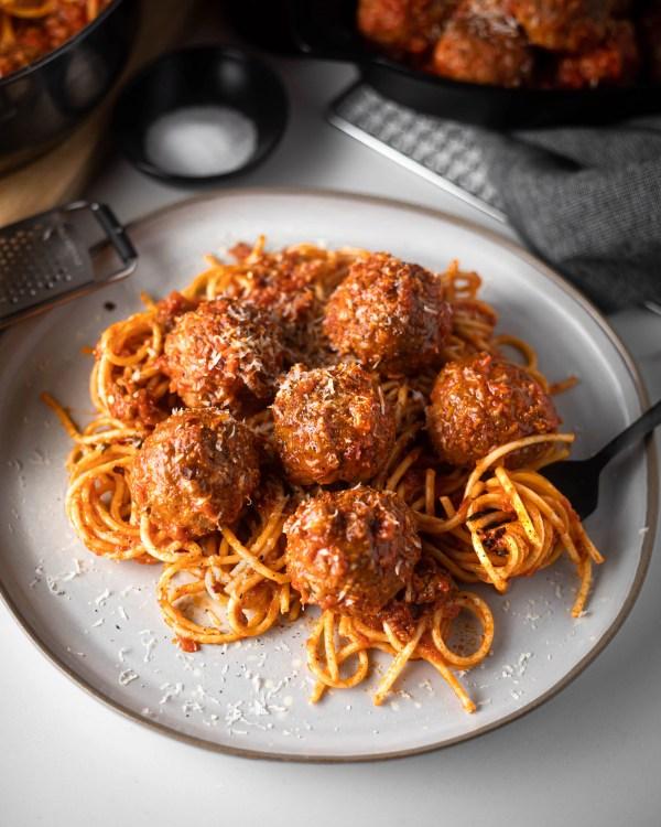 Easy Homemade Meatball recipe