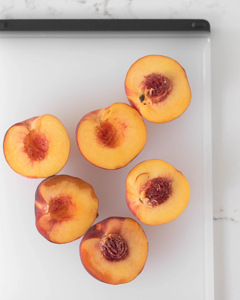 Grilled Peach and Prosciutto Summer Salad