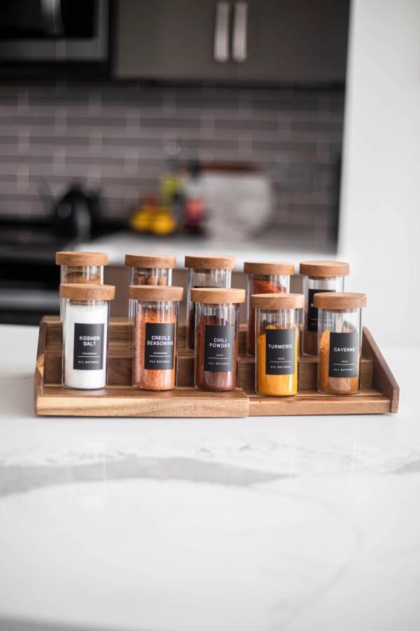 DIY Spice Organization