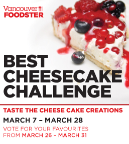 Vancouver Foodster Cheesecake