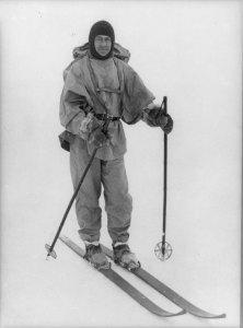 Scott on Skis - AMNH Library