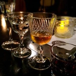 Vodka, Gin, Vermouth & Creme de Cassis