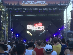 Super DJ Pete Tong at FVDED 2015