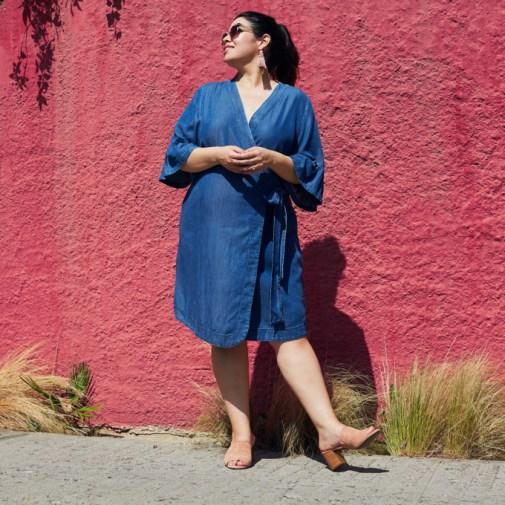 Simply Be plus size denim dress